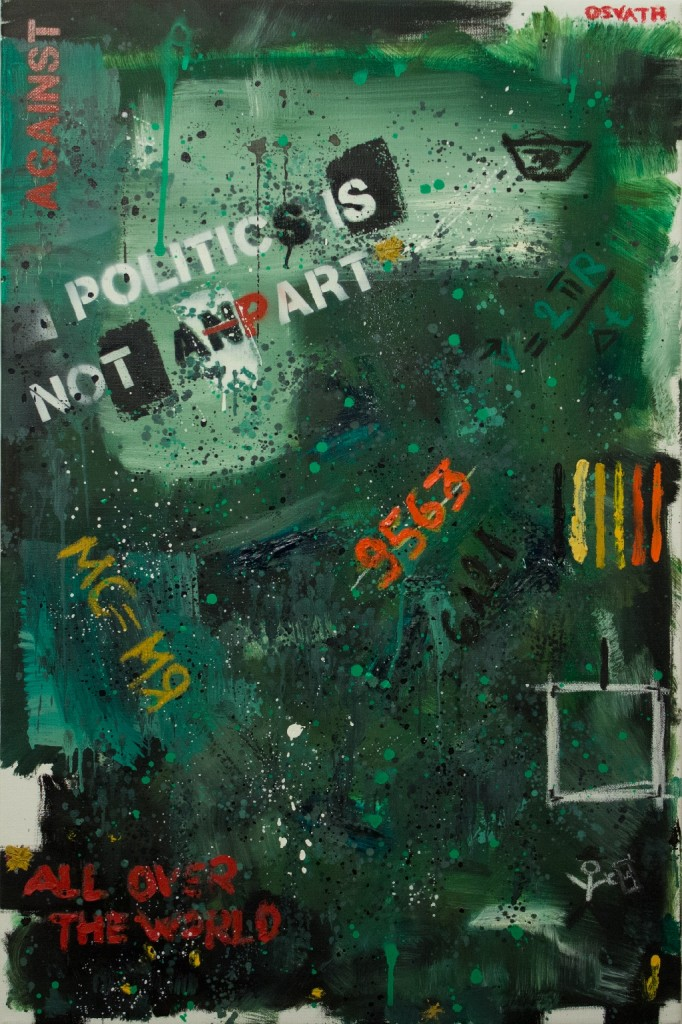 politics is not an p-art